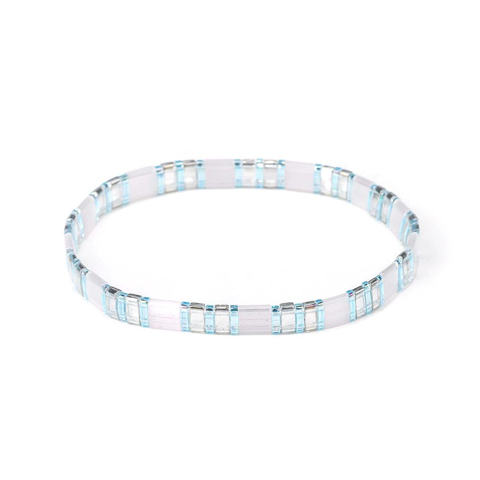 Popular Friendship Wholesale Personalized Tila Bead Bracelet Women Jewelry