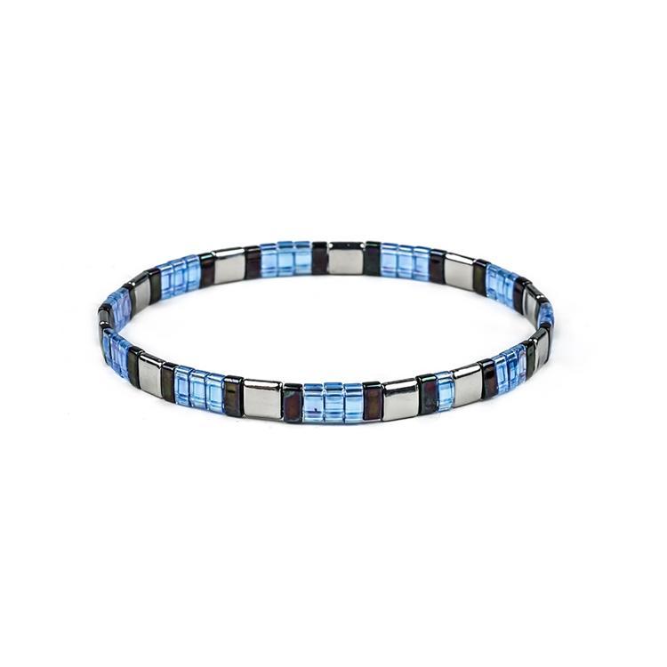 TTT Jewelry new fashion handmade colorful tila beads bracelet wholesale women jewelry