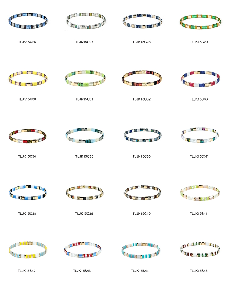 Newest Colorful Handmade Tila bracelet Women Jewelry | TTT Jewelry
