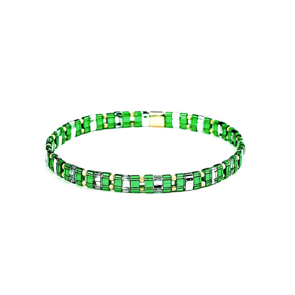 Fresh Friendship Elastic Style Miyuki Seed Beads Tila Bracelet Wholesale Women Jewelry