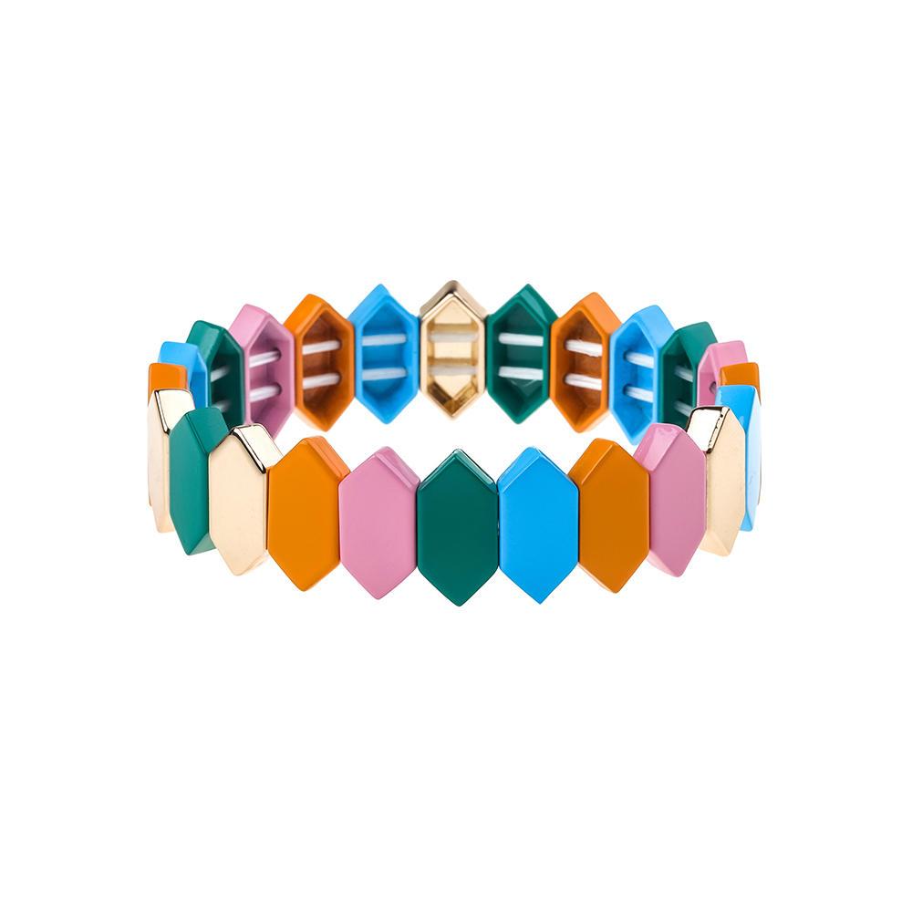 Vogue Stackable New Style Alloy Enamel Bracelet Wholesale Women Jewelry