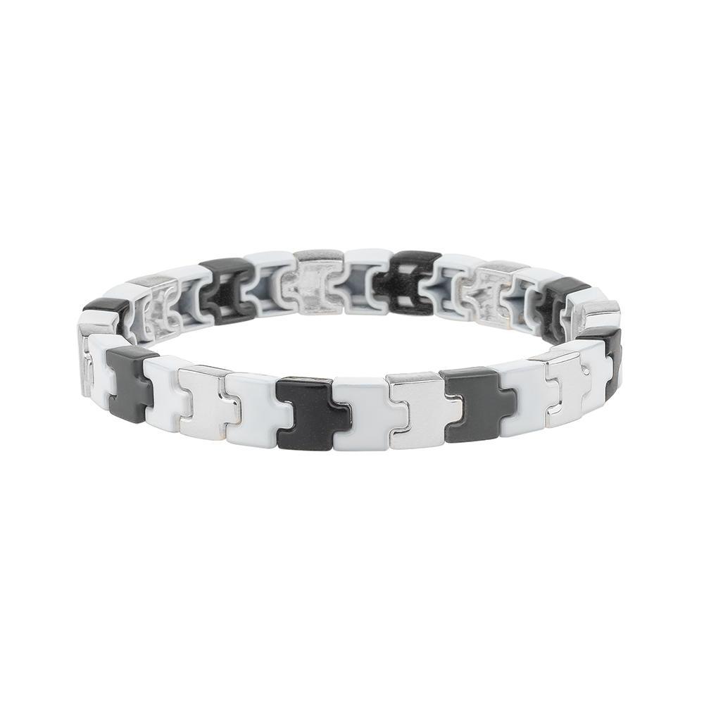 2020 New Style Unique Stackable Convex Shape Alloy Enamel Bracelet Wholesale Jewelry