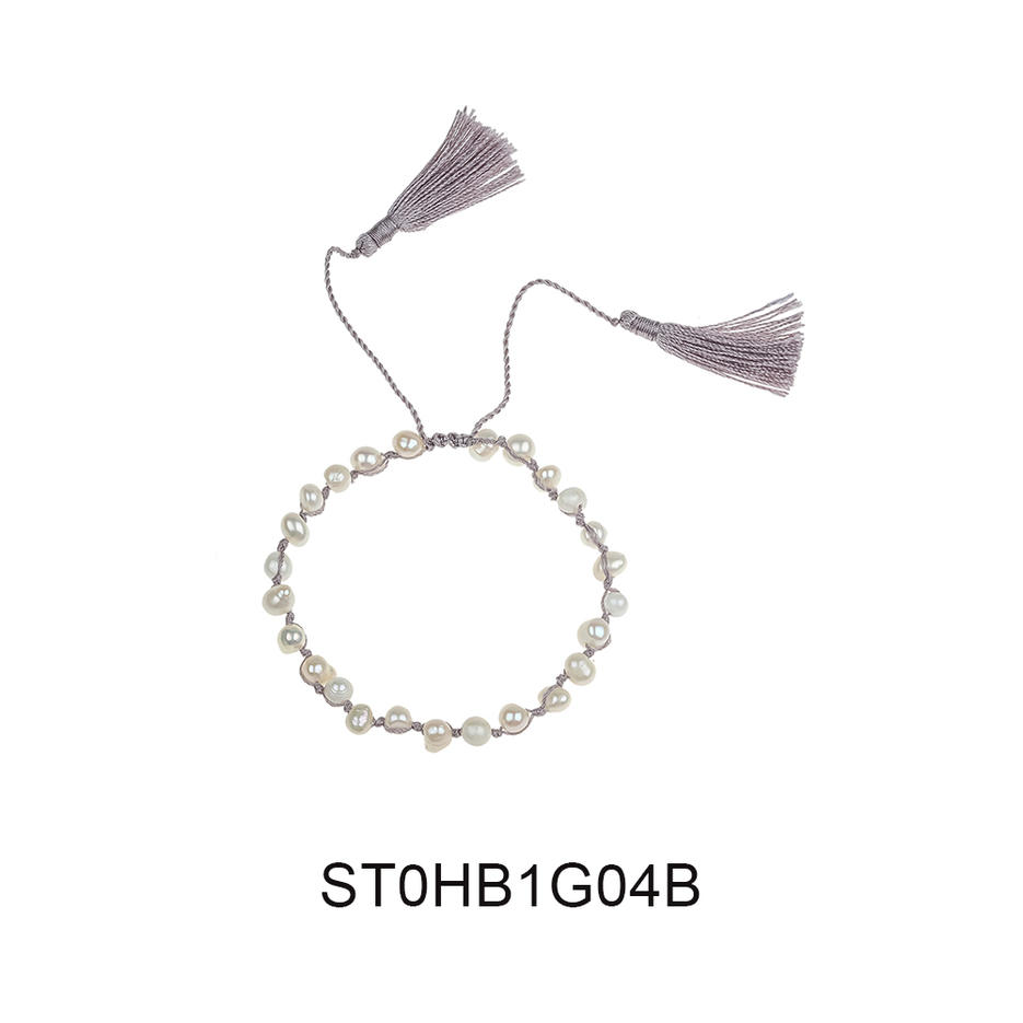 Fast Delivery Fashion Wholesale Jewelry Pearl Tassel Womne Bracelet