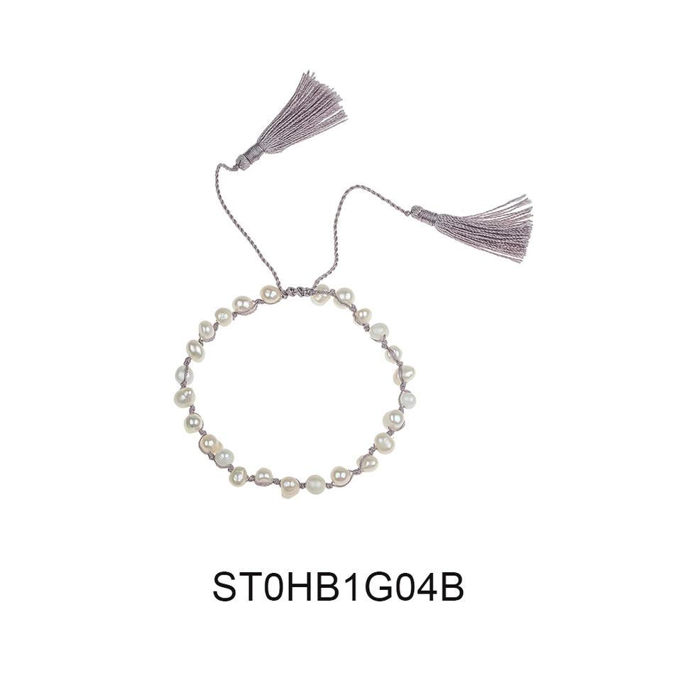 Fast Delivery Fashion Wholesale Jewelry Pearl Tassel Womne Bracelet