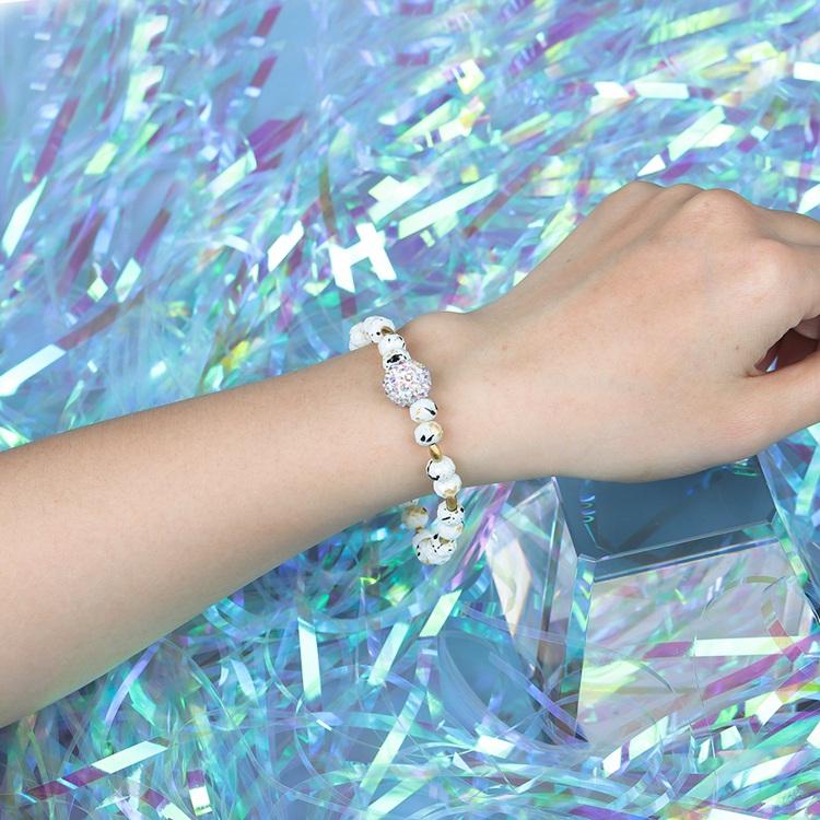 Friendship Bracelet Colorful Dazzle Shine Crystal Beads Wholesale Women Jewelry