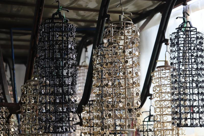 How are semi-finished products made by alloy material(While used for jewelry)