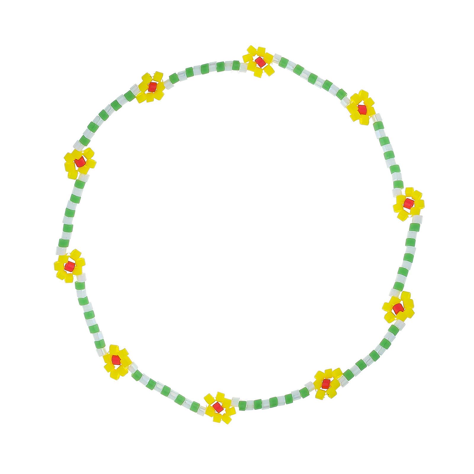 Daisy Miyuki bead bracelet