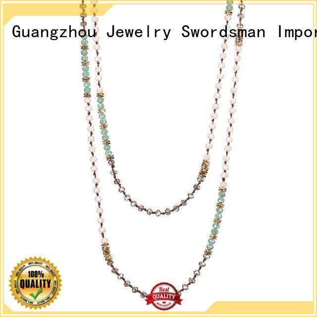 layered choker necklace handmade multilayer boho statement TTT Jewelry