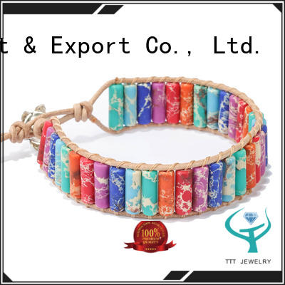 TTT Jewelry diffuser wearing chakra bracelet awarded supplier for merchant