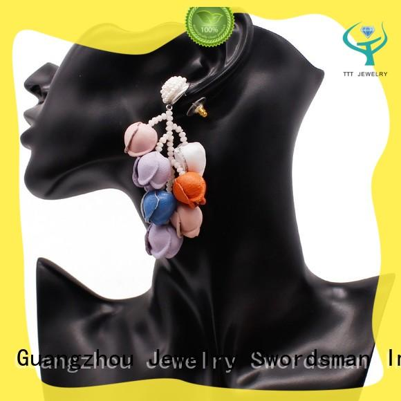 TTT Jewelry seed boho chic earrings overseas market for retailer