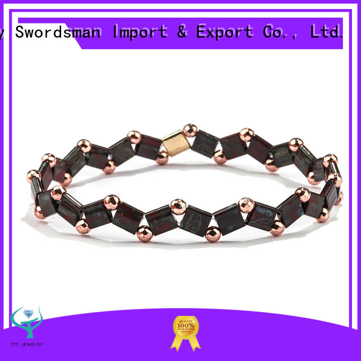 TTT Jewelry eco-friendly tila bracelet export worldwide for gift