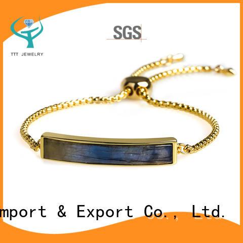 TTT Jewelry silver bracelet for women export worldwide for reseller