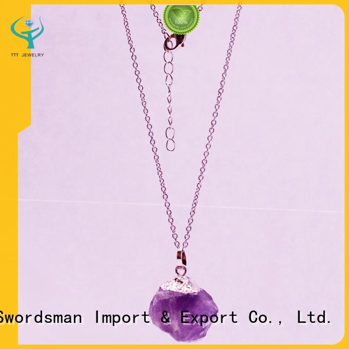 stretch amethyst jewelry In stock international market for distribution TTT Jewelry