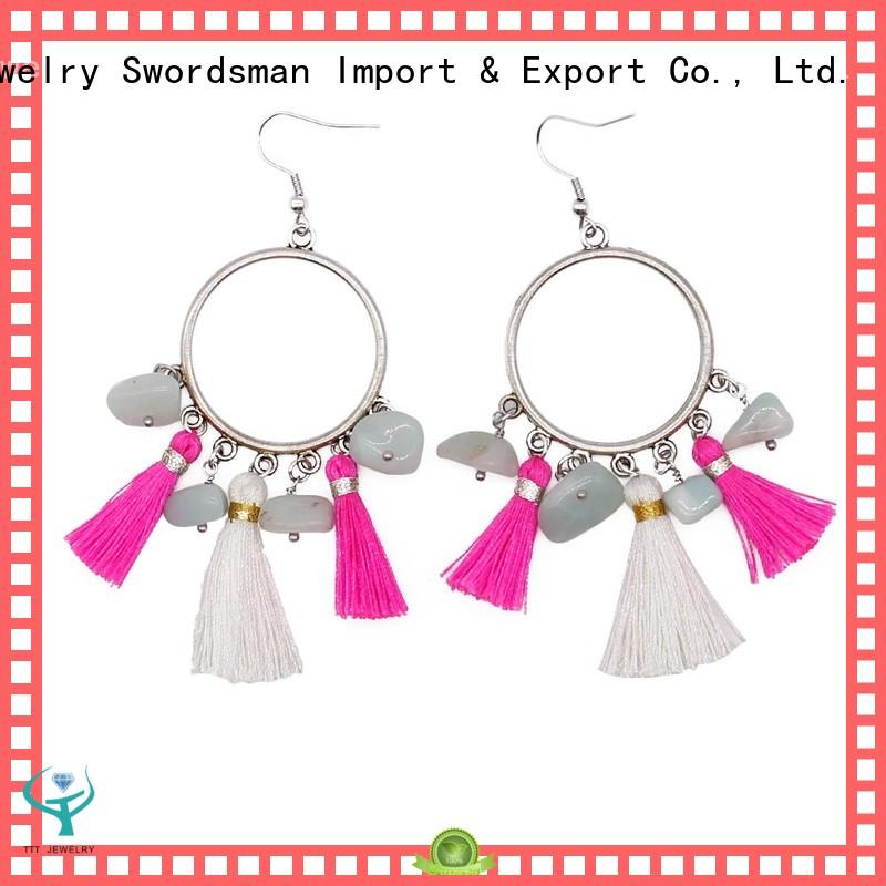 TTT Jewelry from stone paris earrings manufacturer for dealer