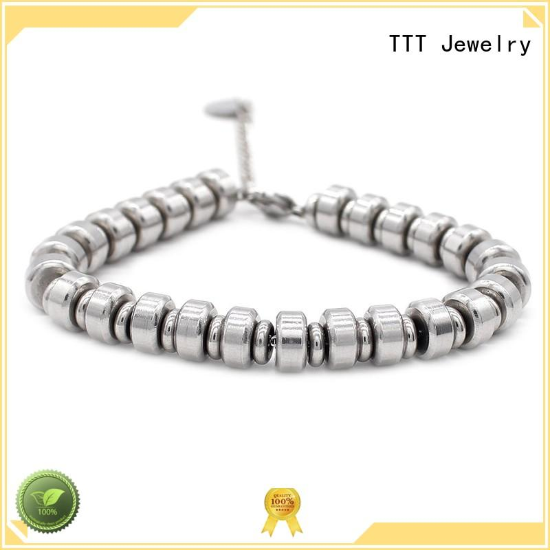 steel permanent japanese TTT Jewelry Brand bracelet stainless steel