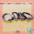 Quality TTT Jewelry Brand brown lava stone bracelet