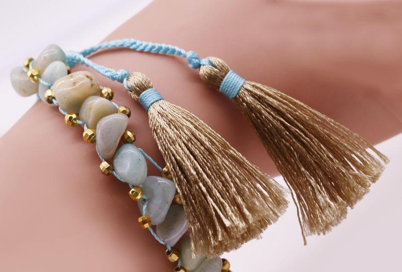 TTT Jewelry charm glass stone bracelet purchase online for merchant-3