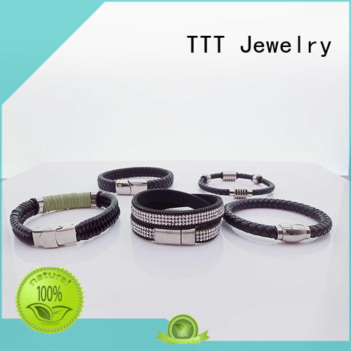 charm adjustable leather bracelets bracelet TTT Jewelry company