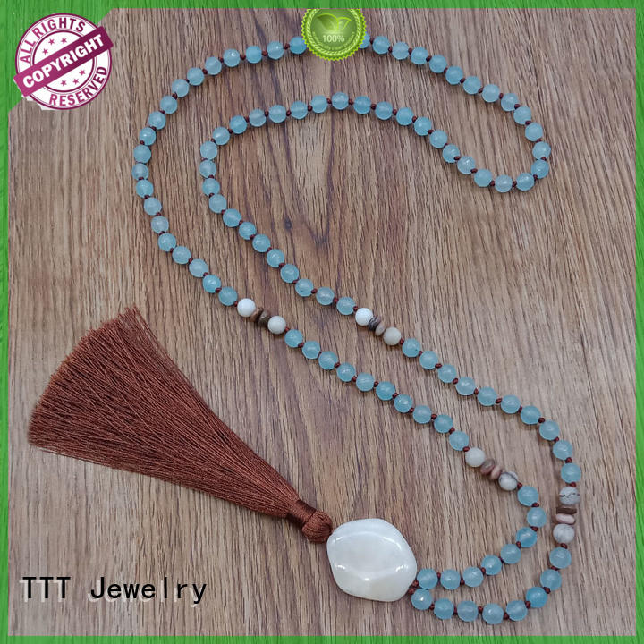 Quality TTT Jewelry Brand bridal necklace natural