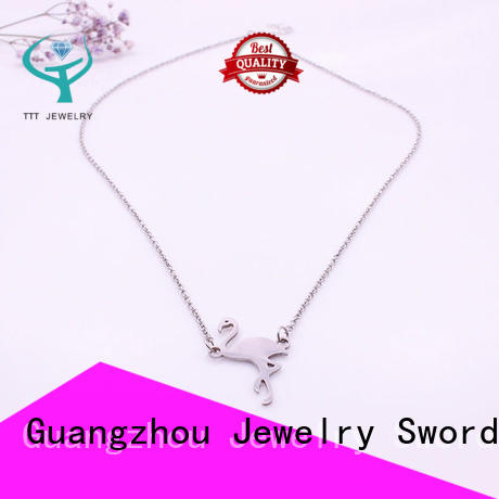 life fashion necklaces wholesale flamingo for distribution TTT Jewelry