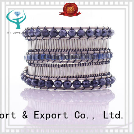 TTT Jewelry latest white wrap bracelet trade partner for distribution