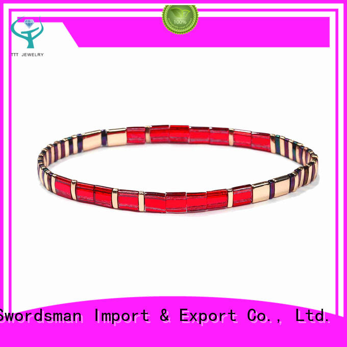 TTT Jewelry eco-friendly tile bead bracelet patterns purchase online for gift