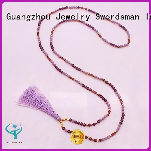 customized amethyst jewelry In stock international market for various occasions