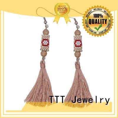 handmade miyuki TTT Jewelry glass earrings