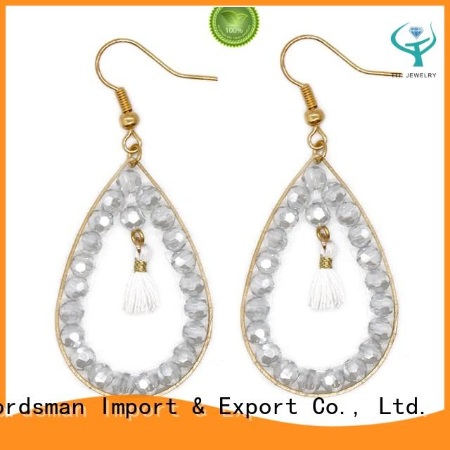TTT Jewelry reliable yellow crystal earrings international market for wholesale