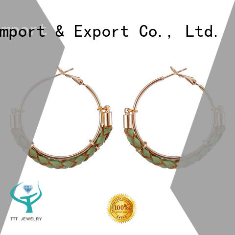 TTT Jewelry hot recommended massive hoop earrings customized for small business
