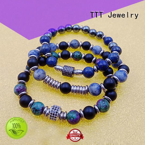 beads stone bracelet designs eye TTT Jewelry company