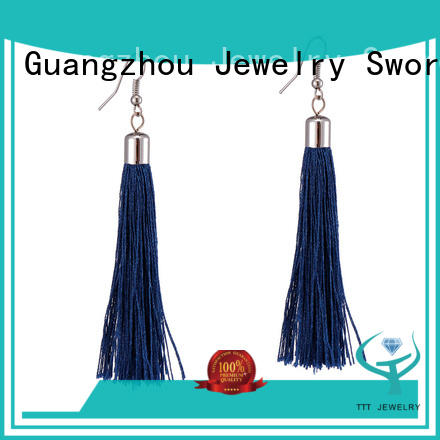 reliable tassel black earrings layer solution expert for distribution
