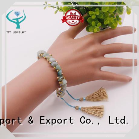 Handmade Irregular Natural Stone Bracelet