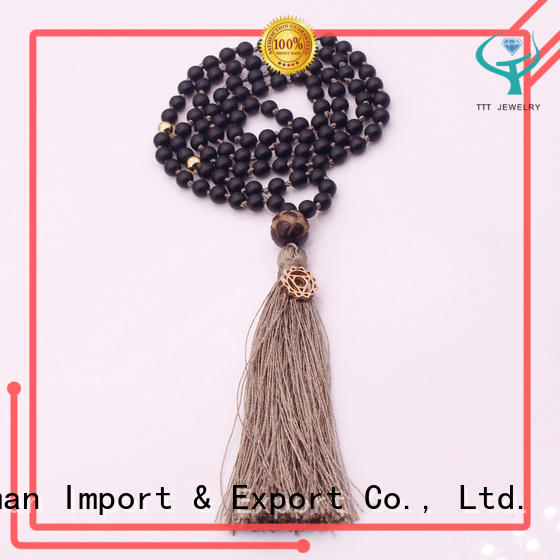 dedicated service gemstone necklaces grass manufacturerfor sale