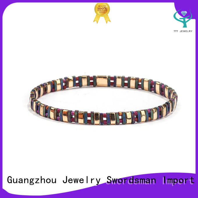 TTT Jewelry knot tila bracelet export worldwide for gift