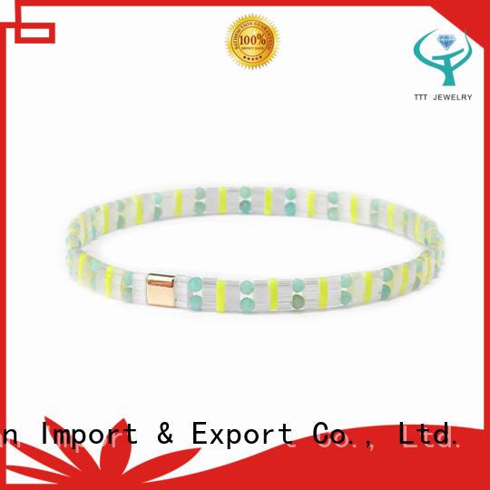 TTT Jewelry tila bead patterns awarded supplier for gift