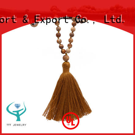 TTT Jewelry agate designer necklaces trade partner for gift