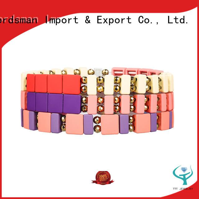 TTT Jewelry eco-friendly enamel bracelet solution expert for small business