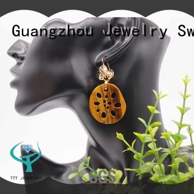 TTT Jewelry handmade moonstone earrings trader for wholesale