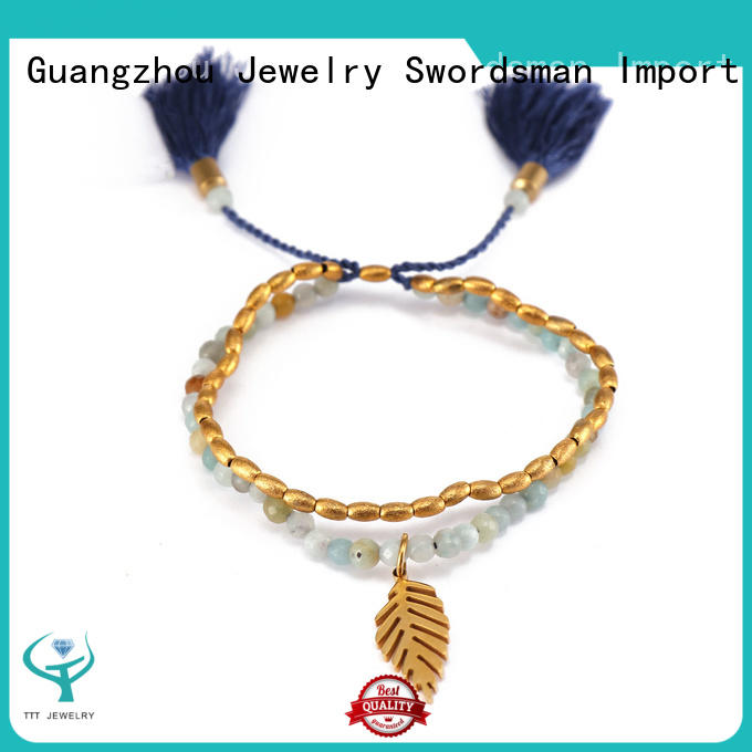 competitive price black stone bracelet cord great deal for wholesale
