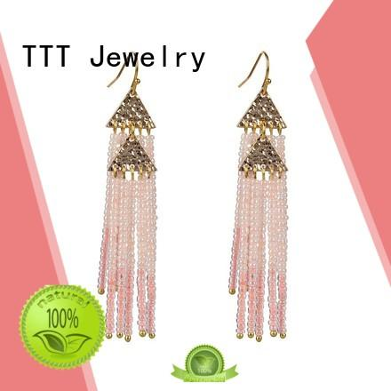miyuki handmade TTT Jewelry Brand murano glass earrings
