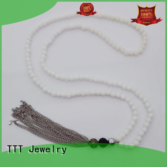 TTT Jewelry Brand necklace amethyst rhinestone necklace beads