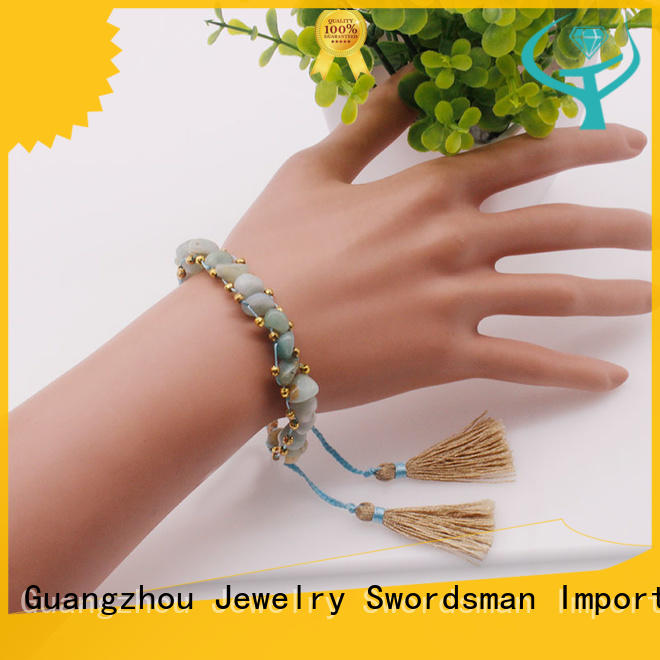 TTT Jewelry charm glass stone bracelet purchase online for merchant