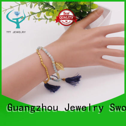 competitive price black stone bracelet stone great deal for trader
