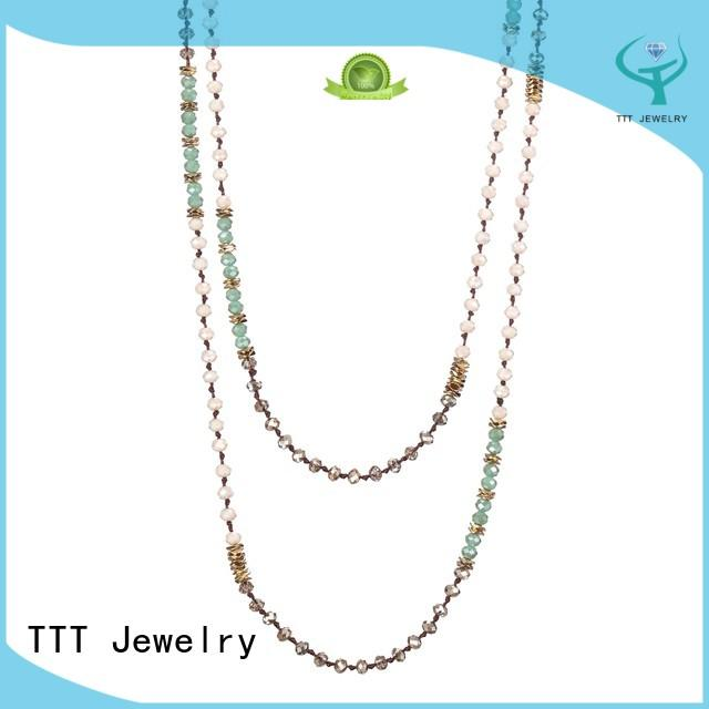 Custom multilayer necklace layered necklace TTT Jewelry statement