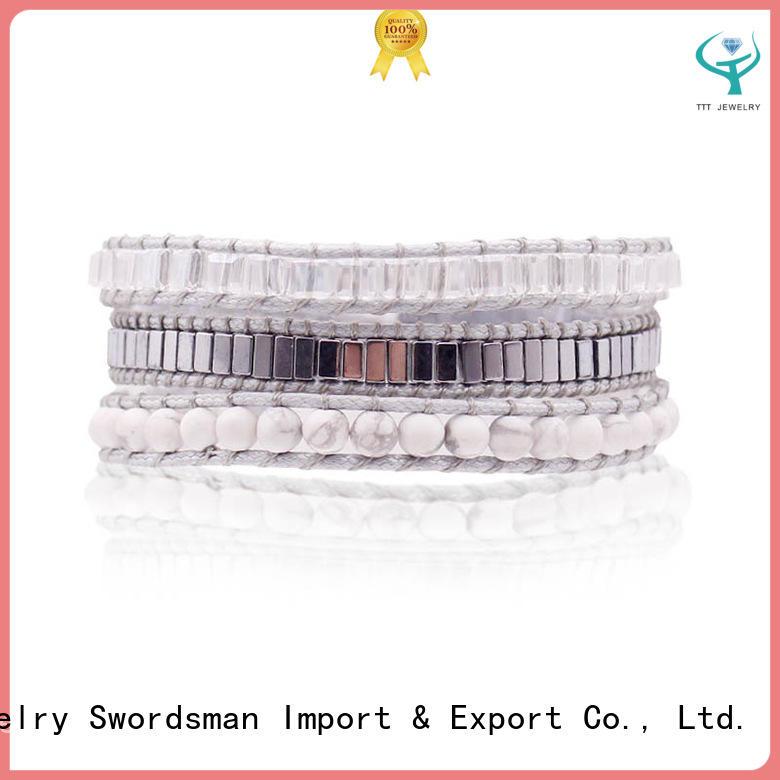 beads wrap chan luu wrap bracelet blue TTT Jewelry