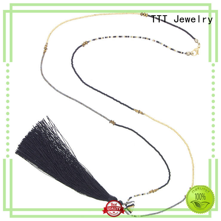fashion jewelry necklaces tassel TTT Jewelry Brand miyuki necklace