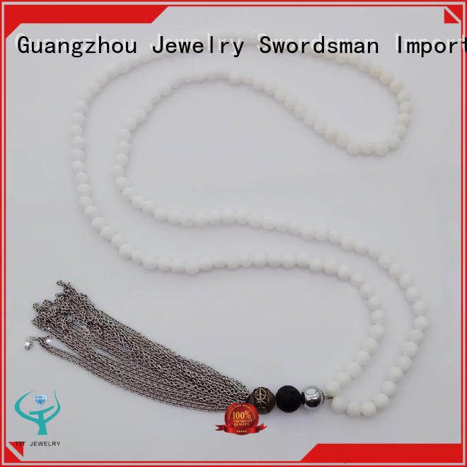 Wholesale Handmade Natural Stone Bead Necklace