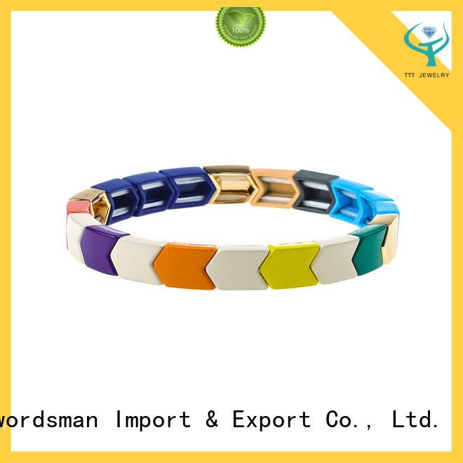 TTT Jewelry logo hermes enamel bracelet wholesale for small business