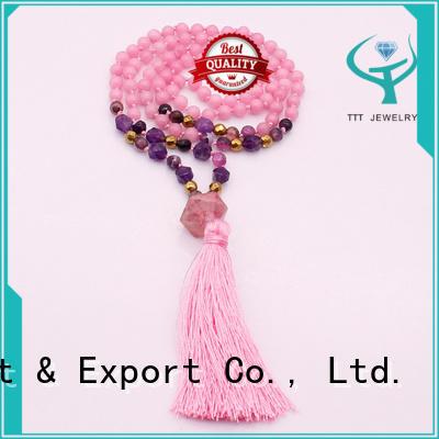 beige rhinestone choker necklace factory for sale TTT Jewelry